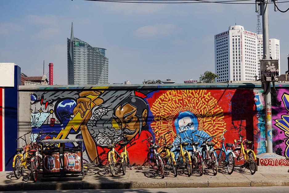 M50, graffiti